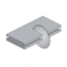 Диск с твърдосплавни пластини CMT 260/2.8/30 Z=80, за рязане на алуминий, месинг, медни сплави, пластмаса, меламин и др. - small, 87872