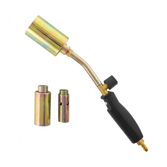 Горелка за пропан-бутан PROVIDUS AX086, с три дюзи ф22/30/45мм, дължина 35см