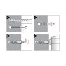 Комплект за монтаж на бойлер FRIULSIDER 61700 10/8х65мм, с кука, 50бр. в кашон - small, 137796
