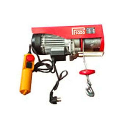 Лебедка подемна електрическа HU-LIFT MB400, 750W, 200/400кг, 18м/3.8мм - въже