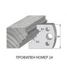 Нож профилен PILANA 24, 40x4мм, инструментална стомана - small, 16446