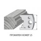 Нож профилен PILANA 25, 40x4мм, инструментална стомана - small, 16932