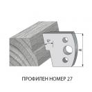 Нож профилен PILANA 27, 40x4мм, инструментална стомана - small, 16723