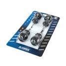 Отвертки комплект NAREX MINI PROFI 4части, къса, PH, SB, еднокомпонентна дръжка - small