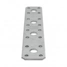Планка права DOMAX LP3 200x2.5х35мм, поцинкована, 20бр. в опаковка - small, 130096