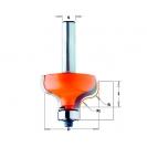Профилен фрезер CMT D=28.7мм R=4мм I=13мм S=8мм Z=2, HW, RH - small, 19360