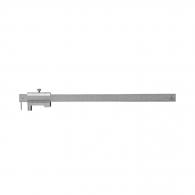 Шублер чертилка ЗИИУ Стандарт 0400 200мм, ± 0.1, стопорен винт, неръждаема стомана