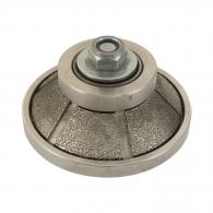 Профилен инструмент SURE-SHAPE BEVEL E15, за ъглошлайф, M14 захват, за камък, гранит с посипка