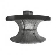 Профилен инструмент SURE-SHAPE FULL BULLNOSE V30, за ъглошлайф, M14 захват, за камък, гранит с посипка