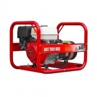 Генератор AGT 7501 HSB, 6.4kW, 230V, бензинов,монофазен