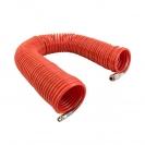Маркуч спирален за въздух GAV ф6х8мм/20м, с бързи връзки 1/4'' - small, 109295