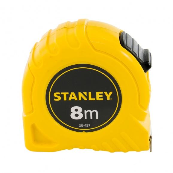 Ролетка пласмасов корпус STANLEY 8м х 25мм, EC-клас 2