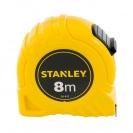 Ролетка пласмасов корпус STANLEY 8м х 25мм, EC-клас 2 - small