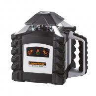 Ротационен лазерен нивелир LASERLINER Quadrum Green 410 S, зелен лазер клас 3R, обхват 400m, точност 1mm/10m, автом./ръчно