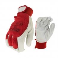 Ръкавици TECHNIK, от ярешка кожа и трико