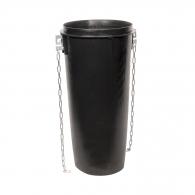 Улей за насипни материали RUBI 1.1м, полипропиленов, черен