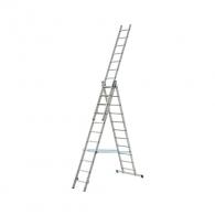 Алуминиевa стълба ELKOP VHR H 3х11, 2992/4812/6632мм(на стълбата), трираменна, професионална, 150кг.