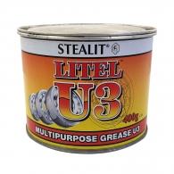 Грес литиева универсална СТЕАЛИТ Лител Y-3 0.400кг, работна температура от -25 до +120 °C