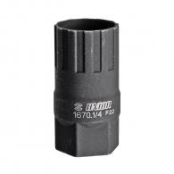 Ключ за демонтаж на венец касета UNIOR 44.7x3.0x22.72x21.24, за Shimano, SRAM, Sun Race и Sachs Aris