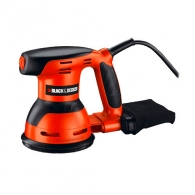 Шлайф ексцентриков BLACK&DECKER KA198, 260W, 13000об/мин, ф125мм