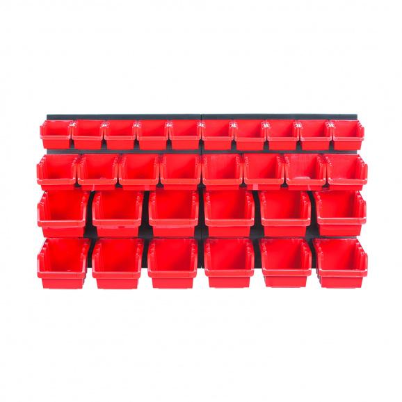 Табло и кутии за окачване KISTENBERG 32части, кутии 30бр и табло 2бр