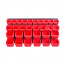 Табло и кутии за окачване KISTENBERG 32части, кутии 30бр и табло 2бр - small