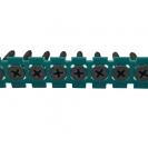 Винт за гипсокартон на лента MAKITA 3.9x25мм, конусна глава, самонарезен, ситна стъпка, 50бр. в лента - small, 11309