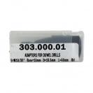 Адаптор за свредла CMT B=10мм D=19.5мм S=10мм/30° - десен, конусен - small, 96934