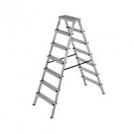 Алуминиевa стълба ELKOP DHR407 6+1, 1513мм(на стълбата), двустранна, за домашна употреба, 150кг.
