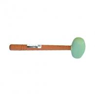 Чук гумен RUBI 0.500кг, с дървена дръжка, бял каучук