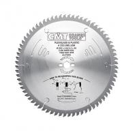 Диск за с твърдосплавни пластини CMT 250/2.8/30 Z=80, за рязане на PVC, плексиглас, винил, шперплат и ламиниран паркет