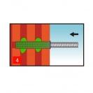 Дюбел за химичeски анкер FISCHER FIS H 20х130 K, ф20х130мм, за тухла  - small, 139197