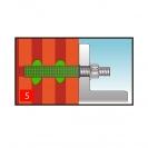 Дюбел за химичeски анкер FISCHER FIS H 20х130 K, ф20х130мм, за тухла  - small, 139198