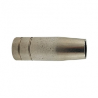 Дюза газова за телоподаващо устройство DECA 12х54мм, от 140А до 160А, помеднена отвътре
