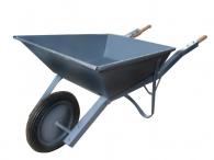 Количка строителна VEGA 60кг, от винкел с бандажно колело ф350мм