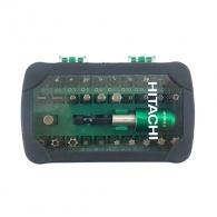 Комплект накрайници HITACHI/HIKOKI 32части, PH, PZ, SB, TX, шестостен с магнитен държач