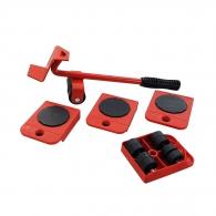 Комплект за пренасяне на мебели MEISTER 5части, до 150кг, ф27мм, пластмаса