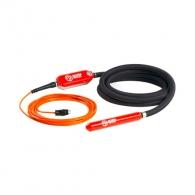 Високочестотен вибратор HERVISA PERLES Т-Runner Plus 75, 230V-200Hz, ф75х7000мм, 230V, захранващ кабел 15м, капацитет ~ 55м3/ч