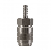 Куплунг бърза връзка AIGNEP ф6мм, за маркуч, месинг с никелирано покритие