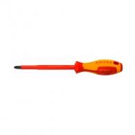 Отверткa кръстата KNIPEX PH3 270/150мм, изолирана 1000V, CrV-Mo, двукомпонентна дръжка