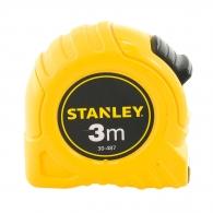 Ролетка пласмасов корпус STANLEY 3м x 12.7мм, пласмасов корпус, EC-клас 2