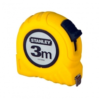 Ролетка STANLEY 3м x 12.7мм, пласмасов корпус, EC-клас 2