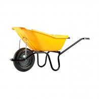 Строителна количка DJTR 110, 110л/ 160кг, с пневматично колело