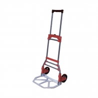 Транспортна количка DJTR 50 ST 50кг, 390х270мм, колела 130мм, стомана/алуминий