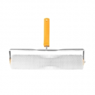 Валяк иглен HARDY 85х400мм H=20мм, за саморазливна замазка, с дръжка, от пластмаса