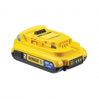 Батерия акумулаторна DEWALT XR DCB183B, 18V, 2.0Ah, Li-Ion, Bluetooth