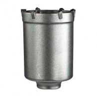 Боркорона с твърдосплавни пластини HELLER RATIO QUICK 80х105/80мм, за бетон и зидария, с вътрешна резба (система Ratio), сухо пробиване