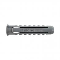 Дюбел универсален FISCHER SX 6x30мм, с периферия, 100бр. в кутия