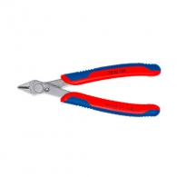 Клещи резачки KNIPEX ф0.2-1.0/125мм - мини, INOX, двукомпонентнa дръжкa