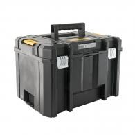 Куфар за инструменти DEWALT TSTAK VI, с една тава, полипропилен, черен